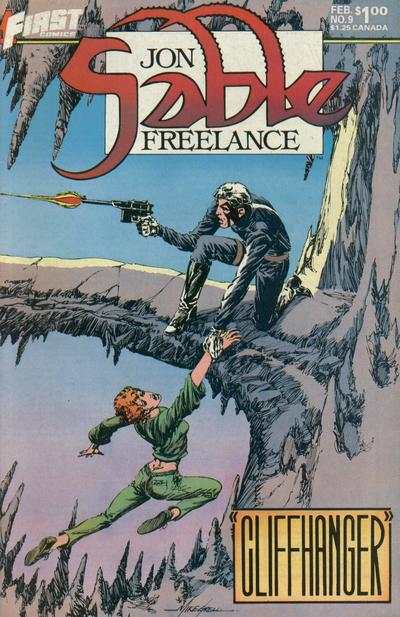 Jon Sable: Freelance #9 comic books for sale