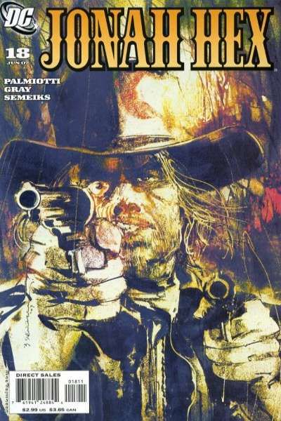 Jonah Hex #18 comic books - cover scans photos Jonah Hex #18 comic books - covers, picture gallery