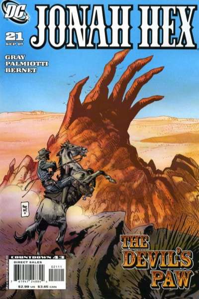 Jonah Hex #21 comic books - cover scans photos Jonah Hex #21 comic books - covers, picture gallery