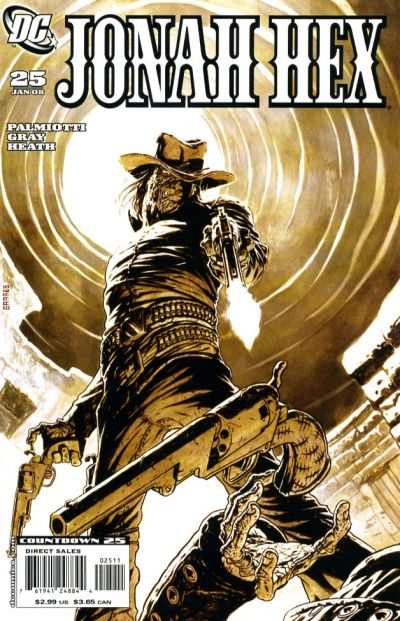 Jonah Hex #25 comic books - cover scans photos Jonah Hex #25 comic books - covers, picture gallery