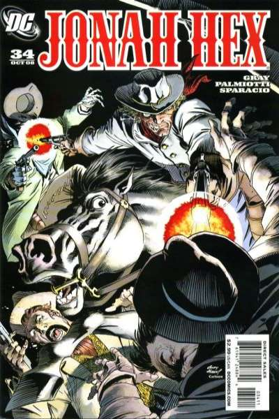 Jonah Hex #34 comic books - cover scans photos Jonah Hex #34 comic books - covers, picture gallery