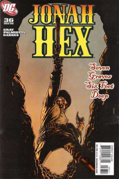 Jonah Hex #36 comic books - cover scans photos Jonah Hex #36 comic books - covers, picture gallery