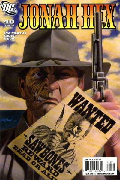 Jonah Hex #40 comic books - cover scans photos Jonah Hex #40 comic books - covers, picture gallery