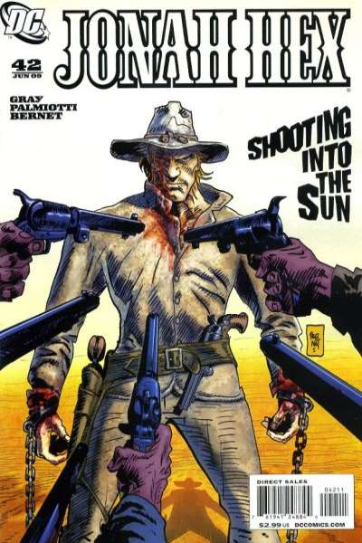 Jonah Hex #42 comic books for sale