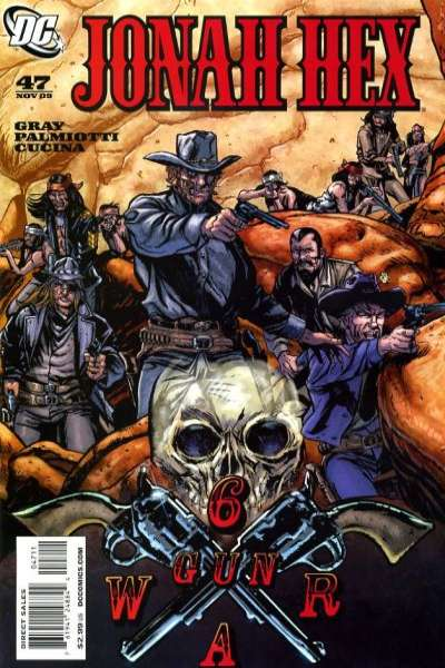 Jonah Hex #47 comic books - cover scans photos Jonah Hex #47 comic books - covers, picture gallery