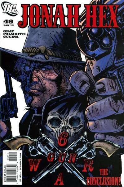 Jonah Hex #49 comic books for sale