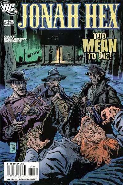 Jonah Hex #52 comic books - cover scans photos Jonah Hex #52 comic books - covers, picture gallery