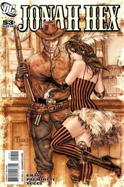 Jonah Hex #53 comic books - cover scans photos Jonah Hex #53 comic books - covers, picture gallery