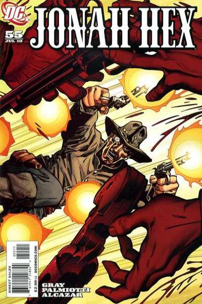 Jonah Hex #55 comic books - cover scans photos Jonah Hex #55 comic books - covers, picture gallery