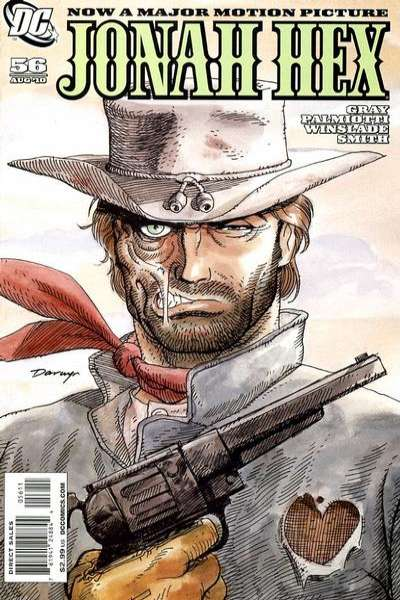 Jonah Hex #56 comic books - cover scans photos Jonah Hex #56 comic books - covers, picture gallery