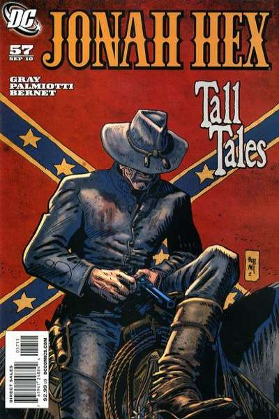 Jonah Hex #57 comic books - cover scans photos Jonah Hex #57 comic books - covers, picture gallery