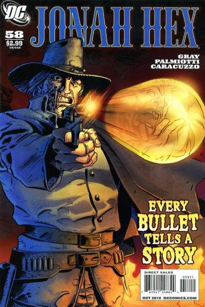 Jonah Hex #58 comic books - cover scans photos Jonah Hex #58 comic books - covers, picture gallery