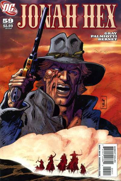 Jonah Hex #59 comic books - cover scans photos Jonah Hex #59 comic books - covers, picture gallery
