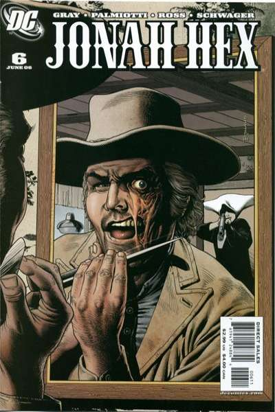 Jonah Hex #6 comic books - cover scans photos Jonah Hex #6 comic books - covers, picture gallery