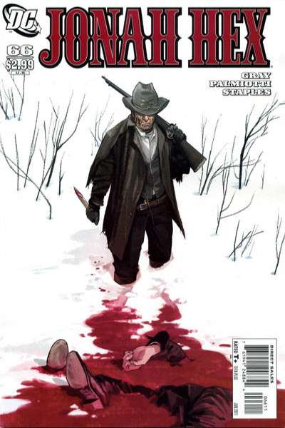 Jonah Hex #66 comic books - cover scans photos Jonah Hex #66 comic books - covers, picture gallery