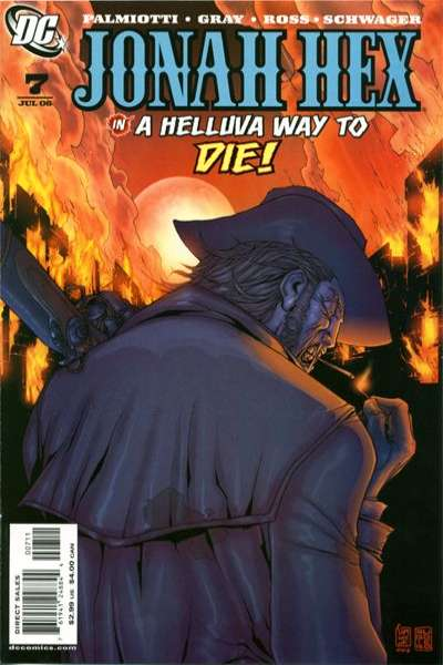 Jonah Hex #7 comic books - cover scans photos Jonah Hex #7 comic books - covers, picture gallery