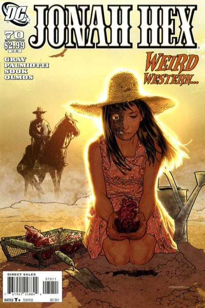 Jonah Hex #70 comic books - cover scans photos Jonah Hex #70 comic books - covers, picture gallery