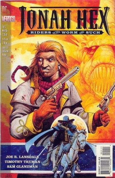 Jonah Hex: Riders of the Worm and Such comic books