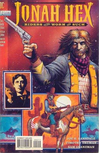 Jonah Hex: Riders of the Worm and Such #2 comic books - cover scans photos Jonah Hex: Riders of the Worm and Such #2 comic books - covers, picture gallery