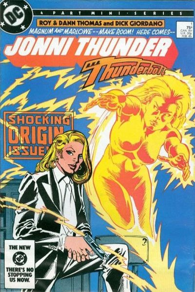 Jonni Thunder Comic Books. Jonni Thunder Comics.