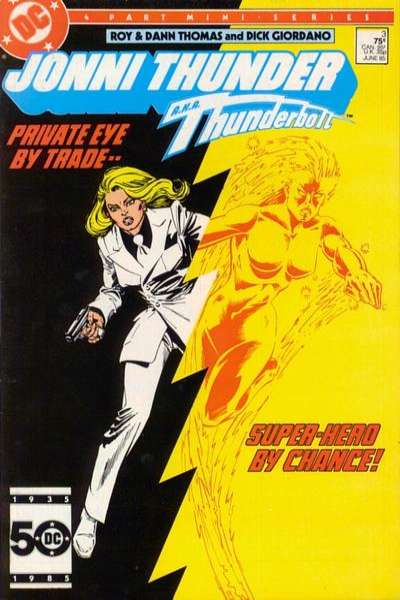 Jonni Thunder #3 comic books for sale