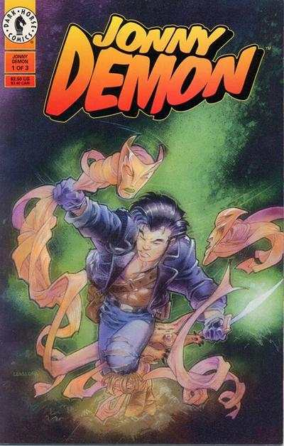 Jonny Demon #1 comic books - cover scans photos Jonny Demon #1 comic books - covers, picture gallery