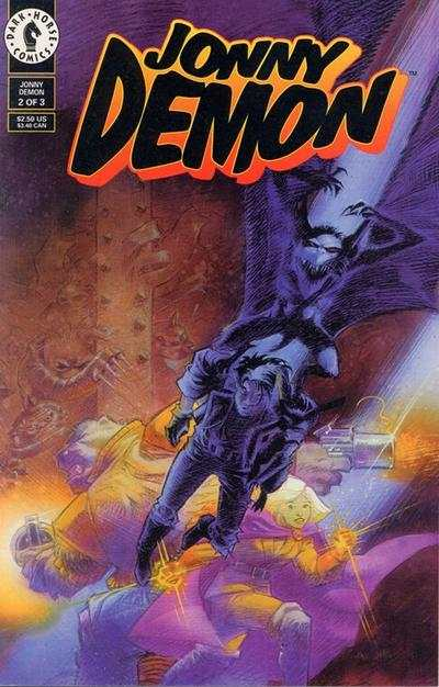 Jonny Demon #2 Comic Books - Covers, Scans, Photos  in Jonny Demon Comic Books - Covers, Scans, Gallery