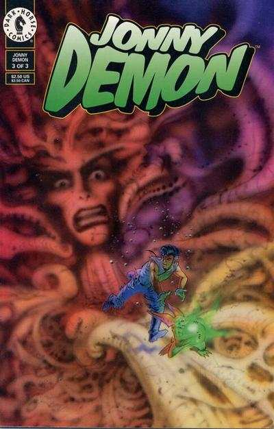 Jonny Demon #3 comic books - cover scans photos Jonny Demon #3 comic books - covers, picture gallery