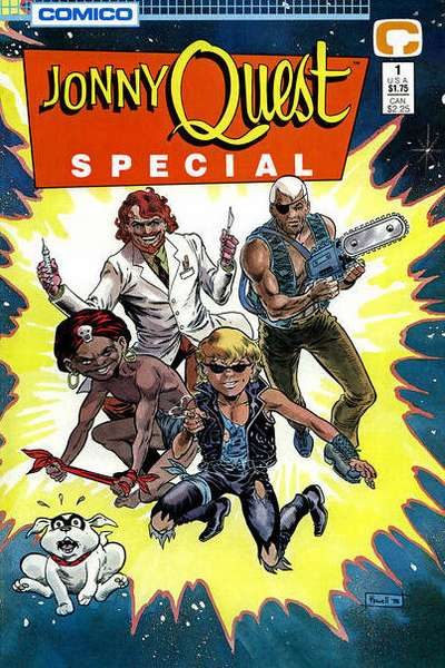 Jonny Quest #1 comic books for sale