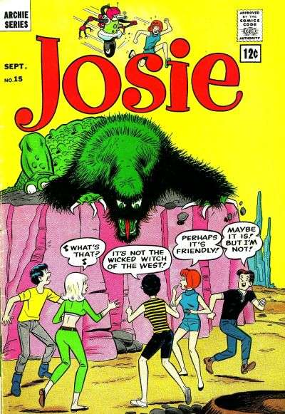 Josie #15 Comic Books - Covers, Scans, Photos  in Josie Comic Books - Covers, Scans, Gallery