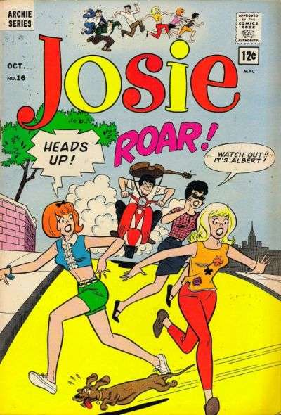 Josie #16 Comic Books - Covers, Scans, Photos  in Josie Comic Books - Covers, Scans, Gallery