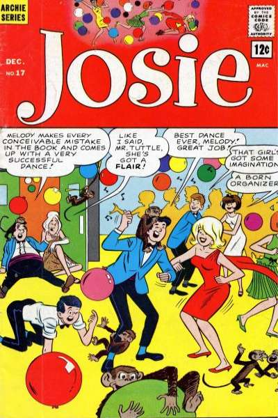 Josie #17 Comic Books - Covers, Scans, Photos  in Josie Comic Books - Covers, Scans, Gallery