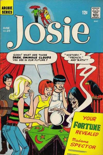 Josie #20 Comic Books - Covers, Scans, Photos  in Josie Comic Books - Covers, Scans, Gallery