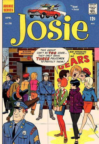 Josie #26 comic books for sale