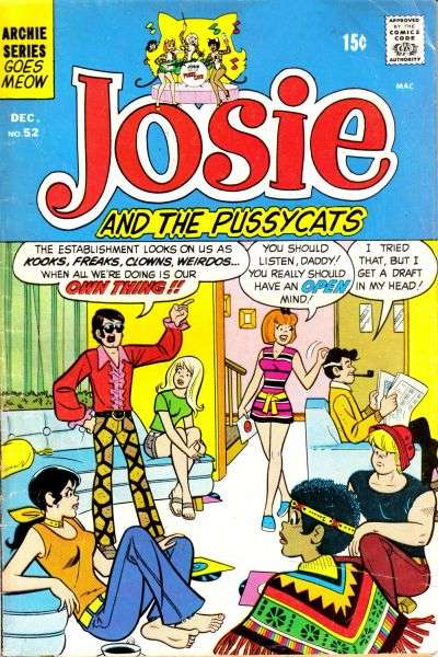 Josie #52 comic books for sale