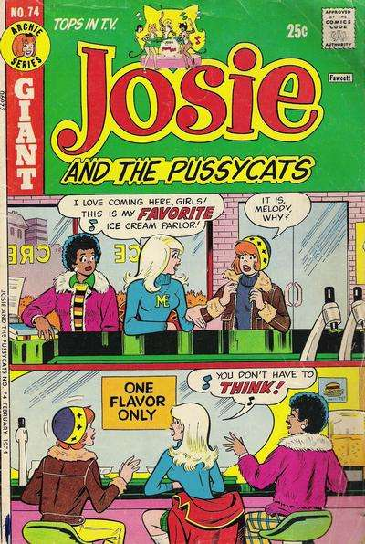 Josie #74 comic books - cover scans photos Josie #74 comic books - covers, picture gallery