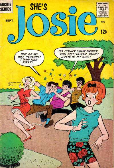 Josie #8 Comic Books - Covers, Scans, Photos  in Josie Comic Books - Covers, Scans, Gallery