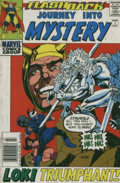 Journey Into Mystery #-1 comic books - cover scans photos Journey Into Mystery #-1 comic books - covers, picture gallery