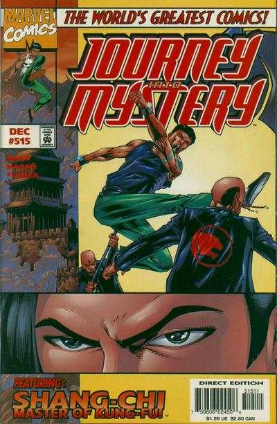 Journey Into Mystery #515 comic books for sale