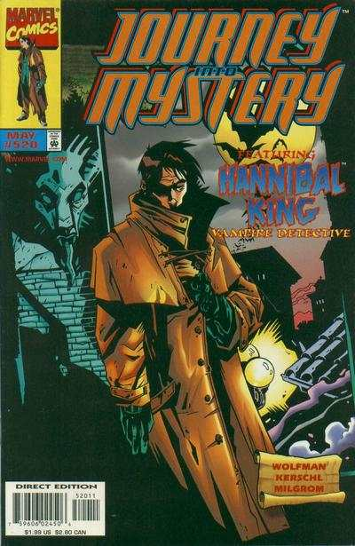 Journey Into Mystery #520 comic books - cover scans photos Journey Into Mystery #520 comic books - covers, picture gallery