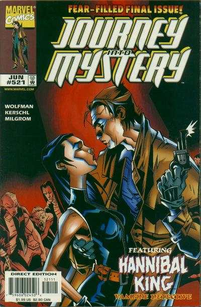 Journey Into Mystery #521 comic books - cover scans photos Journey Into Mystery #521 comic books - covers, picture gallery