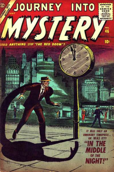 Journey into Mystery #46 Comic Books - Covers, Scans, Photos  in Journey into Mystery Comic Books - Covers, Scans, Gallery