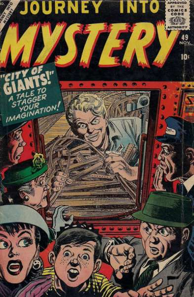 Journey into Mystery #49 Comic Books - Covers, Scans, Photos  in Journey into Mystery Comic Books - Covers, Scans, Gallery