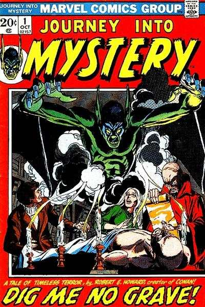 Journey into Mystery #1 comic books - cover scans photos Journey into Mystery #1 comic books - covers, picture gallery