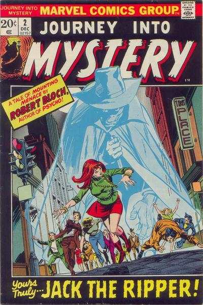 Journey into Mystery #2 comic books - cover scans photos Journey into Mystery #2 comic books - covers, picture gallery
