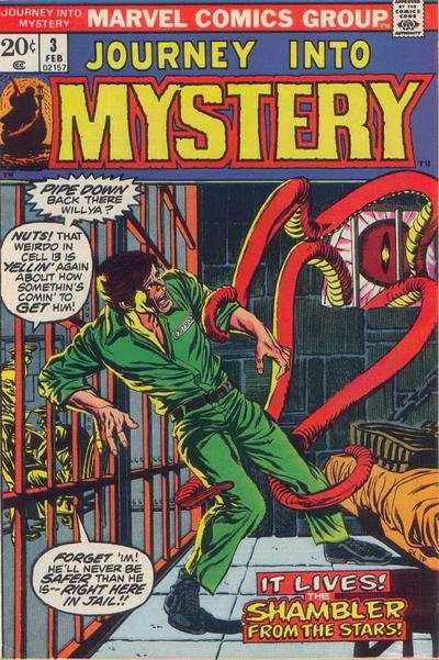 Journey into Mystery #3 comic books - cover scans photos Journey into Mystery #3 comic books - covers, picture gallery