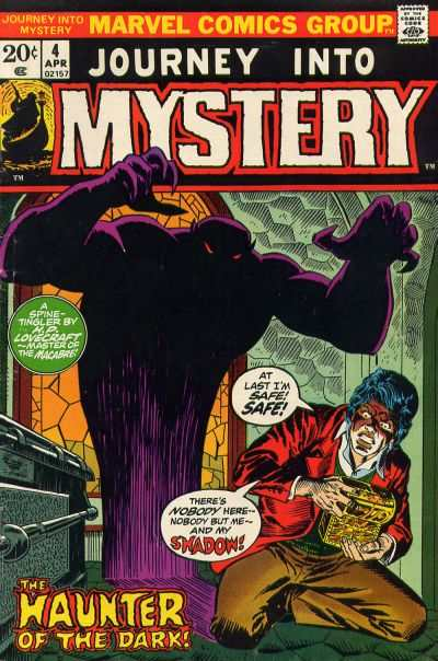 Journey into Mystery #4 comic books - cover scans photos Journey into Mystery #4 comic books - covers, picture gallery