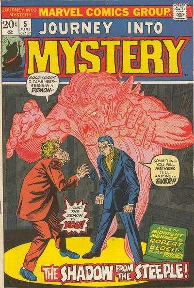 Journey into Mystery #5 comic books - cover scans photos Journey into Mystery #5 comic books - covers, picture gallery