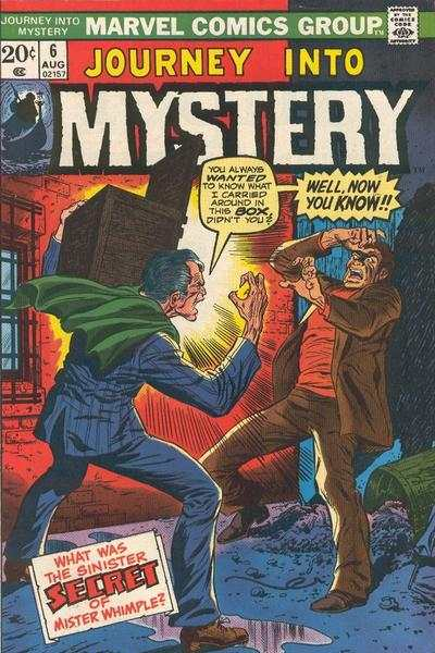 Journey into Mystery #6 comic books - cover scans photos Journey into Mystery #6 comic books - covers, picture gallery