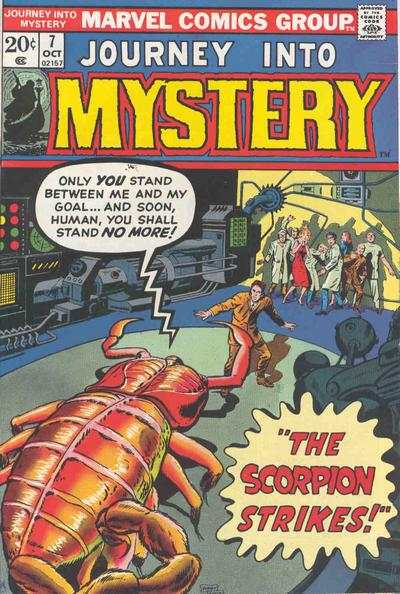 Journey into Mystery #7 comic books - cover scans photos Journey into Mystery #7 comic books - covers, picture gallery